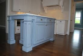 kitchen island with posts magnificent wood legs for kitchen island 17687 home design