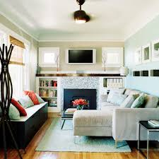 Designing A Small Living Room With Fireplace Small House Design Ideas Sunset