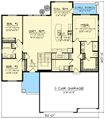 open concept floor plan craftsman with open concept floor plan 89987ah architectural