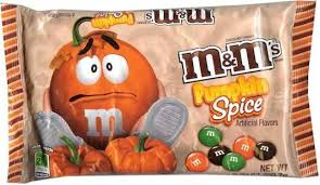 pumpkin spice m m s m ms m m