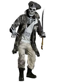 Ghost Halloween Costume Ghost Pirate Costume