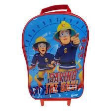 fireman sam wheeled bag 15 00 hamleys fireman sam wheeled