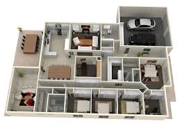 Floor Plan Design 3d House Plans Architectural Rendering Design Design A House