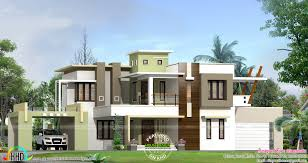 contemporary boxtype home house plan sq ft indian showy april