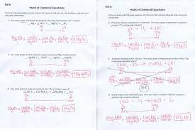 unit 4 chemical reactions