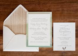 how to make wedding invitations anthony casey s nature inspired watercolor wedding invitations