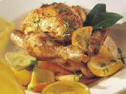 cuisiner des coquelets coquelets rôtis au citron et au paprika recettes femme actuelle