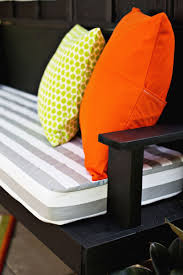 How To Make A Seat Cushion For A Bench Indoor Bench Seat Cushion Home Design Ideas