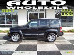 jeep liberty limited 2008 jeep liberty limited in brilliant black crystal pearl