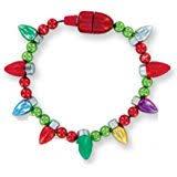 light up christmas earrings amazon com christmas novelty light up bulb earrings colors may