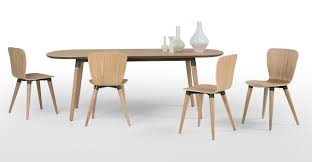 edelweiss extending dining table ash and grey made com