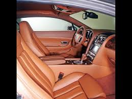 bentley orange interior 2004 bentley continental gt interior side 1024x768 wallpaper