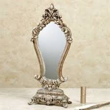 Gold Vanity Mirror Vanity Accessories Touch Of Class