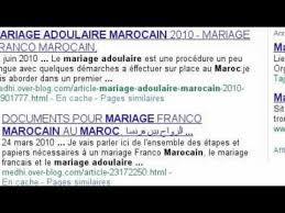 documents mariage mariage franco marocain procedure et documents