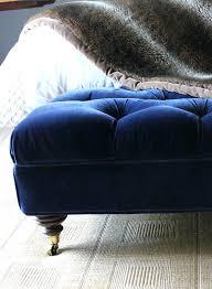 ottoman blue tufted ottoman coffee table light blue tufted