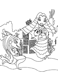 shark tale characters lola angie coloring pages batch coloring