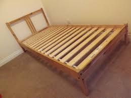 Ikea Single Bed Frame 1 X Ikea Fjellse Pine Single Bed Frame And 1 X Mattress For