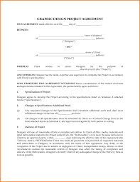 graphic design freelance contract template with graphic design