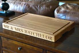 personalised cutting boards personalised oak chopping board cutting boards