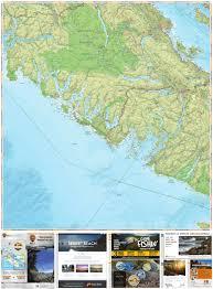 Back Road Maps South Vancouver Island Recreation Map Backroad Mapbook Backroad