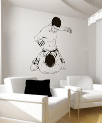 wall decals for home wall vinyl stickers vinyl art decals vinyl wall decal sticker mma punching 1480