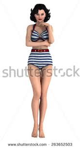 vintage pinup girl stock images royalty free images vectors