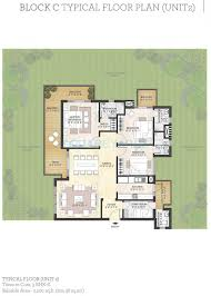 3 bhk 2200 sq ft apartment for sale in puri diplomatic greens