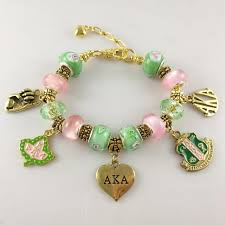 bracelet charm gold jewelry images Aka bglo 39 divine 9 39 charm bracelet alpha kappa alpha sorority gold jpg