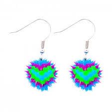 feather earrings for kids novelty earrings frogsac kids jewelry