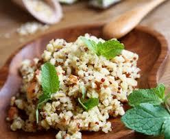 comment cuisiner le boulgour boulghour et quinoa recette de boulghour et quinoa marmiton