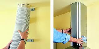 brico depot hotte aspirante cuisine comment installer une hotte aspirante pour ventiler sa cuisine