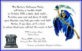 halloween party invitations adults cimvitation