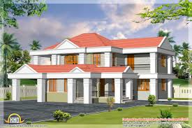 slanted roof house 6 different indian house designs kerala home design and floor plans