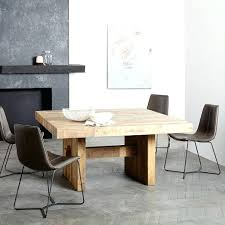 Square Wood Dining Tables Black Wood Square Dining Table Emmersonar Reclaimed Wood Square