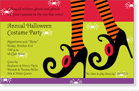 halloween costumes birthday party invitations festival collections