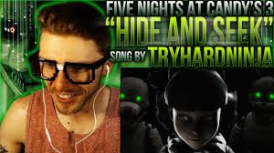Seeking Fx Trailer Song Vapor Reacts 393 Sfm Five Nights At S 3 Song Hide And