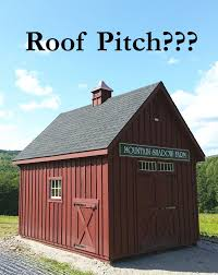 Barn Roofs by Faq U0027s What Does Roof Pitch Mean Custom Barns And Buildings