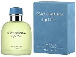 dolce and gabbana light blue men s 2 5 oz amazon com d g light blue by dolce gabbana for men eau de