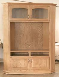 Tall Corner TV Cabinet For  TV Clear Creek Amish Furniture - Corner cabinets for plasma tv