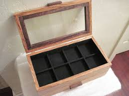 handmade zebra wood watchbox by pj u0027s custom woodworking