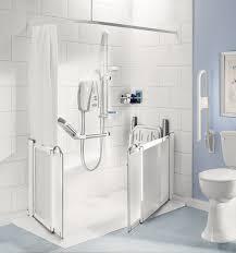 impey half height shower doors practical bathing