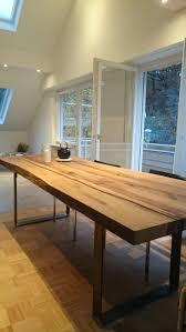 Moderner Esstisch Holz Stahl Die Besten 25 Esszimmertische Ideen Auf Pinterest