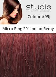 micro ring hair extensions 99j plum micro ring hair extensions indian remy 18 inches
