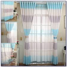 Blue And White Striped Drapes Red And White Striped Curtains For Bedroom Bedroom Home Design