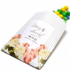 personalized goodie bags vintage floral personalized goodie bags 10 pcs favor bags
