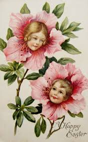 36 best flowers with faces images on pinterest vintage postcards