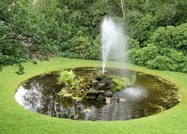 backyard water fountains garden interior design ideas