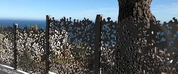 modele de jardin moderne des clôtures de jardin design pour délimiter avec style travaux com