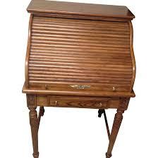 Victorian Secretary Desk by Eagle Craft Oak Roll Top Secretary Desk Chairish