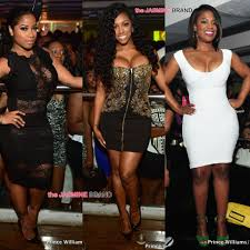 porsha williams celebrity clubbin u0027 kandi burruss porsha williams blac chyna